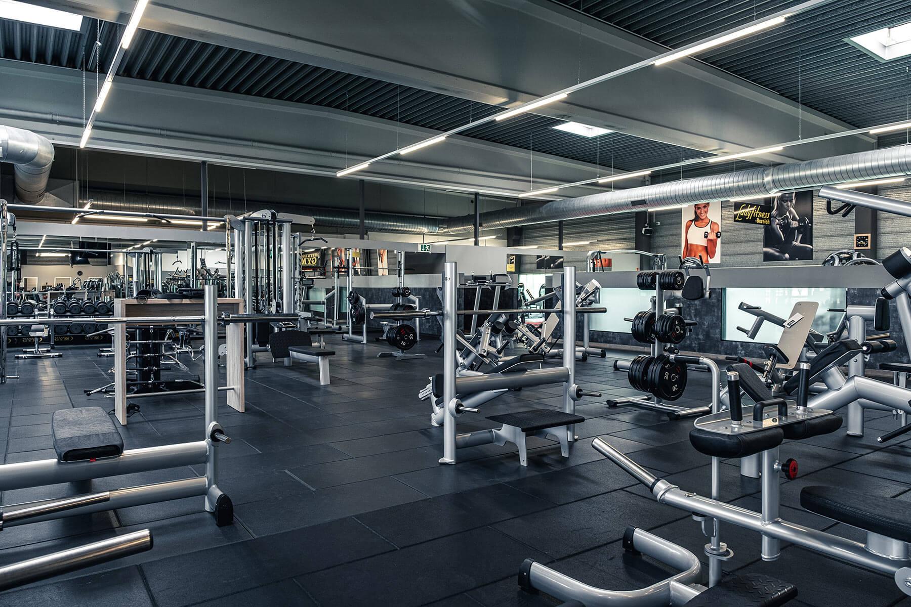 fitnessstudio hilden freie gewichte fitness gym