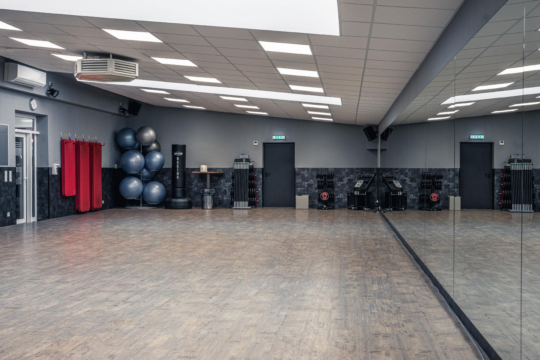 fitness gym viersen kursraum